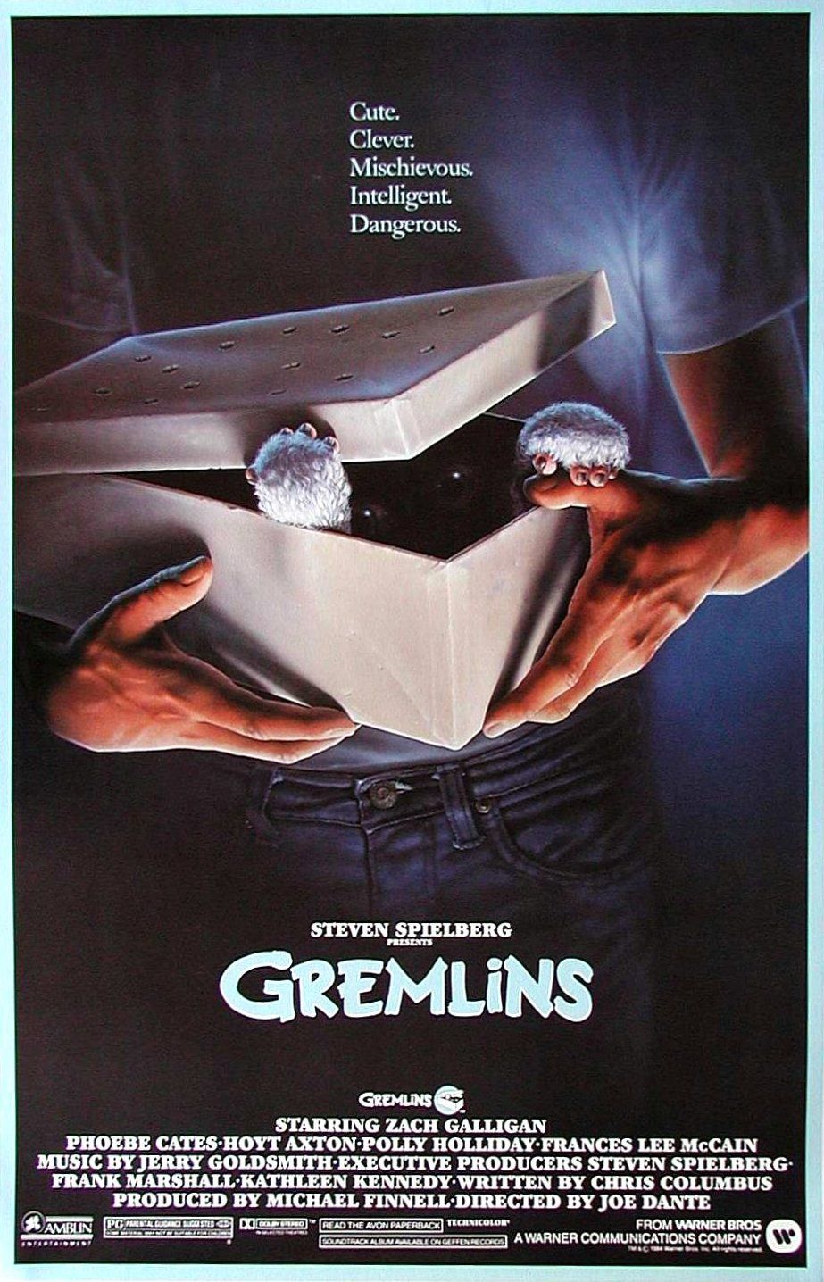 Pin by Tofer on Eighties Posters Gremlins, Scary movies