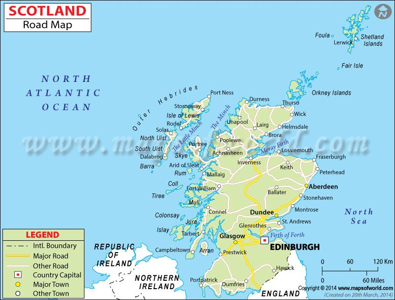 Road Map Of England And Scotland.Scotland Road Map Maps Map Scotland Travel Destinations