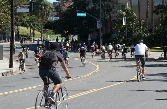 No Cars Open Streets And The Opportunity To Explore One Of The Most Legendary Boulevards In Los Angeles By Foot Bike Skates Or Boulevard Wilshire Bike Ride
