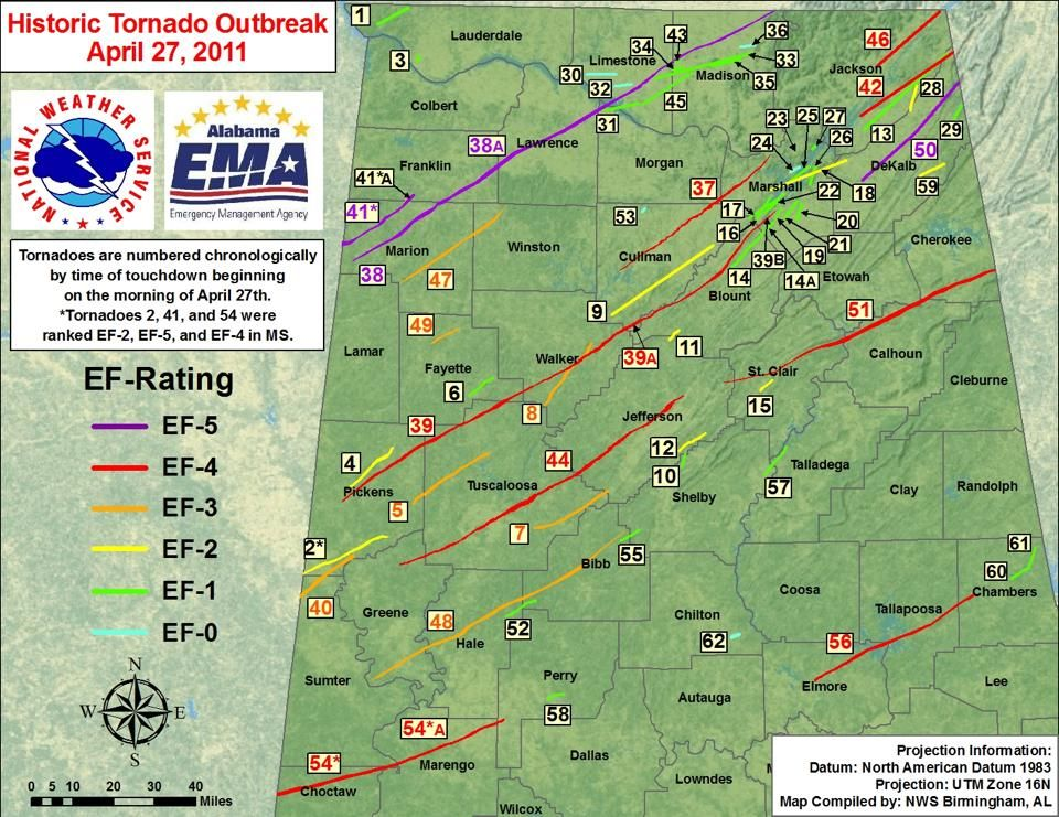 4 27 11 tornado map 4 27 11 tornado map