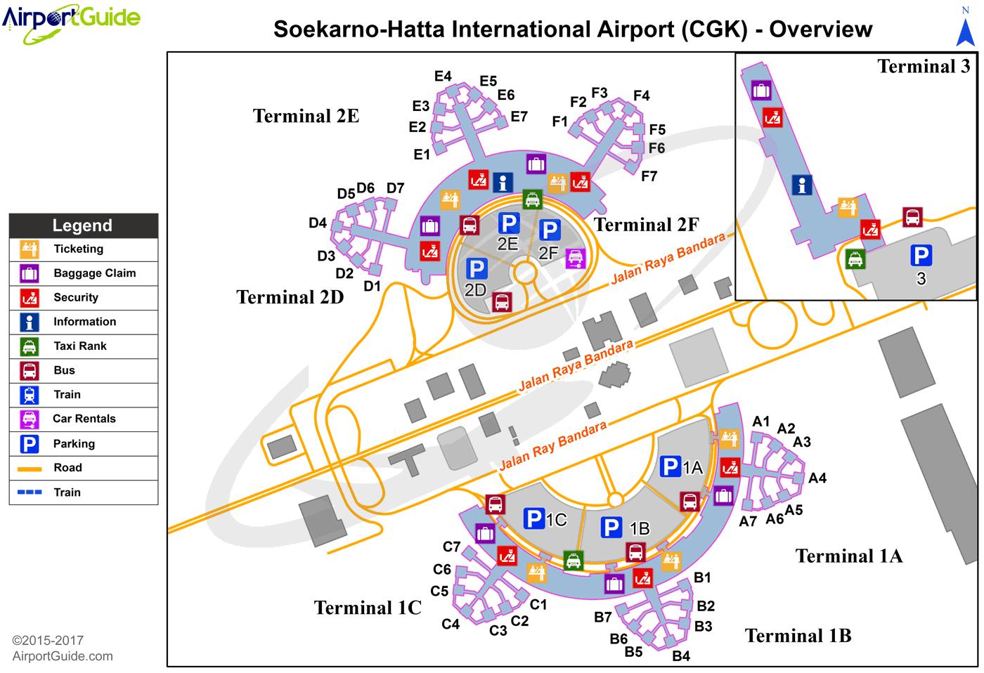 Jakarta SoekarnoHatta International (CGK) Airport