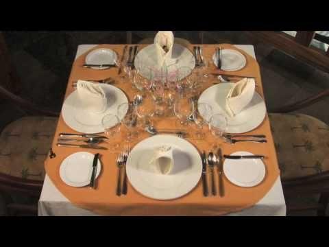Montaje Mesas Youtube Mesas De Cocina Como Poner Los Cubiertos Modales En La Mesa