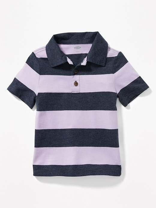 d5f38986 Old Navy Bold-Stripe Jersey Polo for Toddler Boys | Products | Polo ...