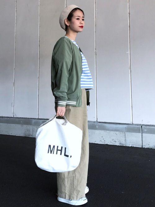 d21c4d57d54 yuki|MHL.のショルダーバッグを使ったコーディネート【2019】 | My WEAR ...