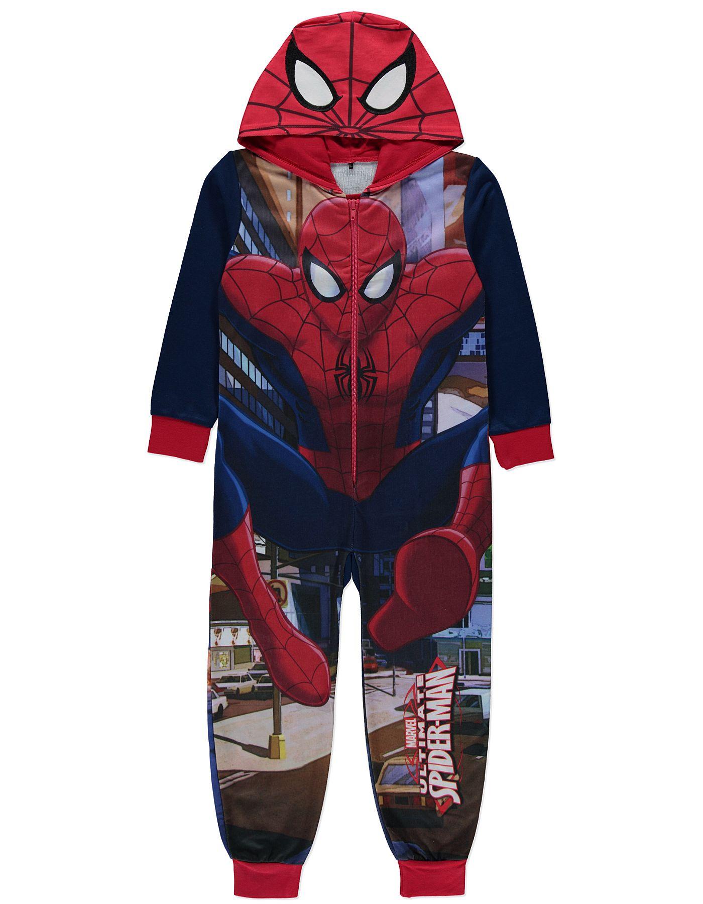 37eec4a10330 Marvel Ultimate Spiderman Onesie