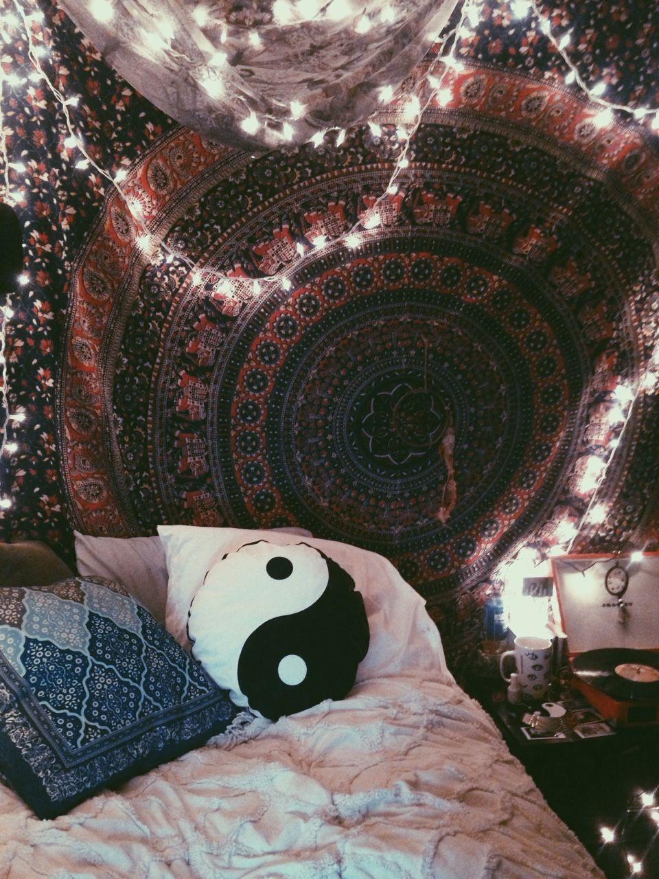 Crosley Tumblr Hippy Bedroom Bohemian Bedroom Decor Boho Room