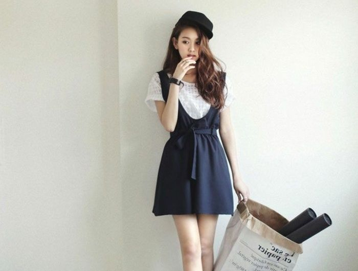 comment porter la robe salopette les meilleures id es de tenues salopettes robe salopette. Black Bedroom Furniture Sets. Home Design Ideas