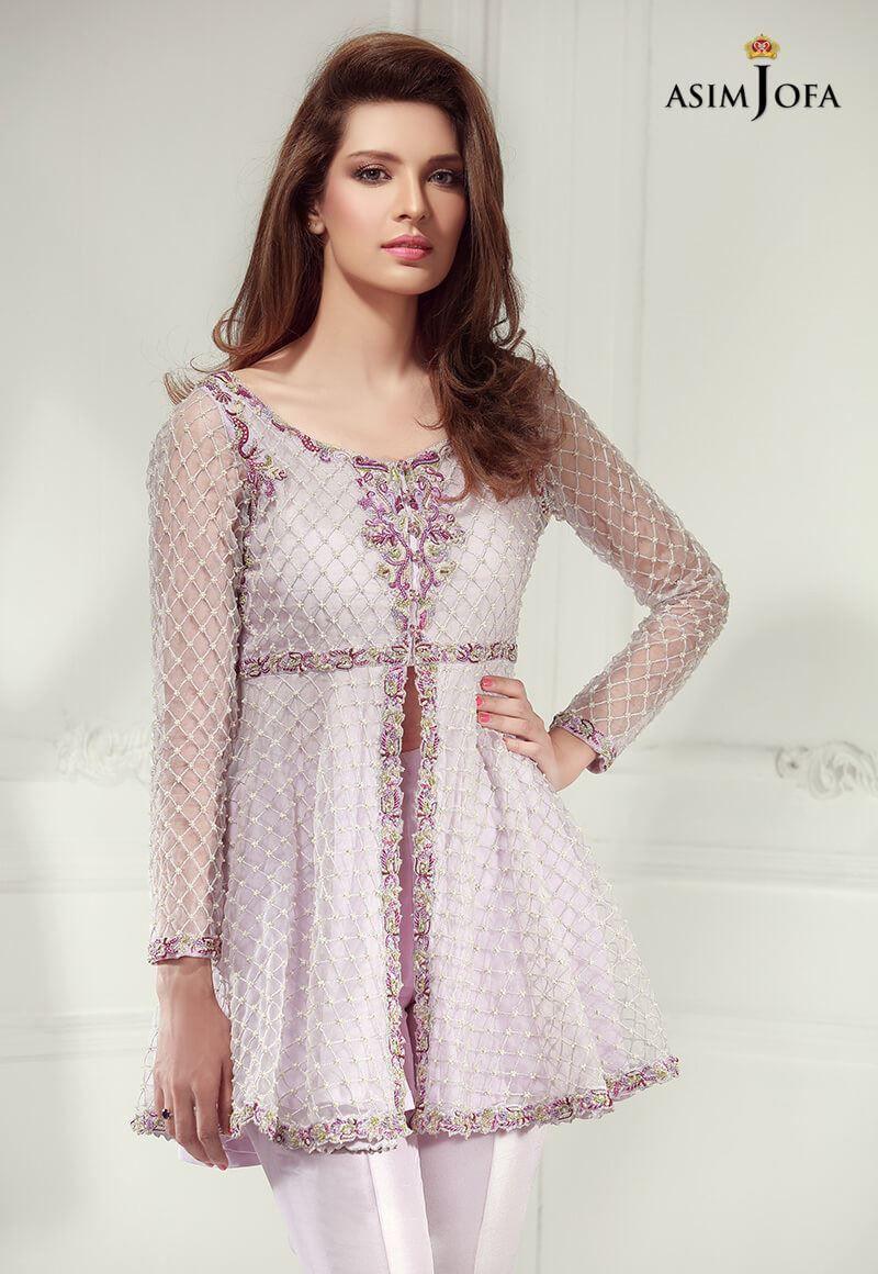 White dress design 2017 - Asim Jofa Luxury Pret Formal Wear Dresses Designs 2017 2018 Collection