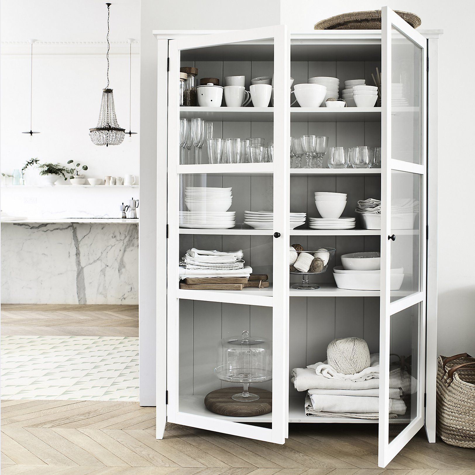 Delicieux Glass Display Cabinet | New In | Furniture | Home | The White Company UK