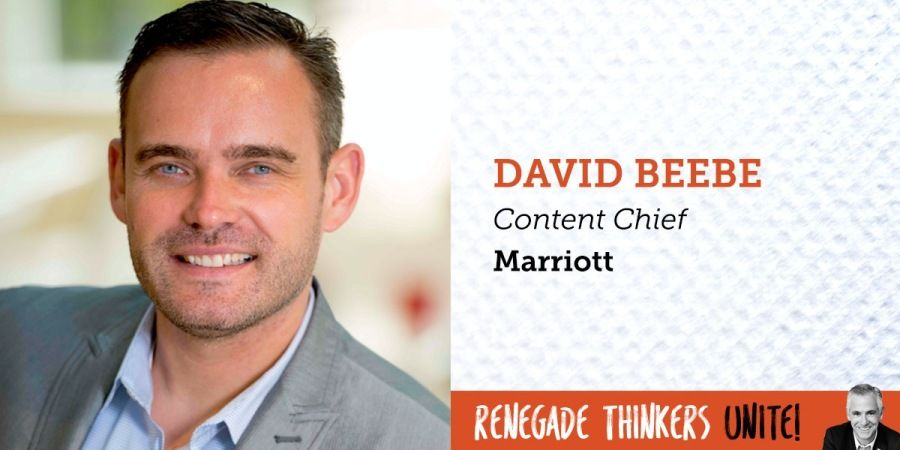 "Drew Neisser in Social Media Marketing, Social Media, Marketing  Founder & CEO • Renegade, LLC  3 h ago · 2 min read ·  +300  Why You Need to Check Out Marriott's Approach to Content Marketing  Why You Need to Check Out Marriott's Approach to Content Marketing      What's that adage? ""Give a man a fish, and he eats for a day; but teach a man to fish, and he'll never go hungry."" Widely applied to the value of long-term investments,"