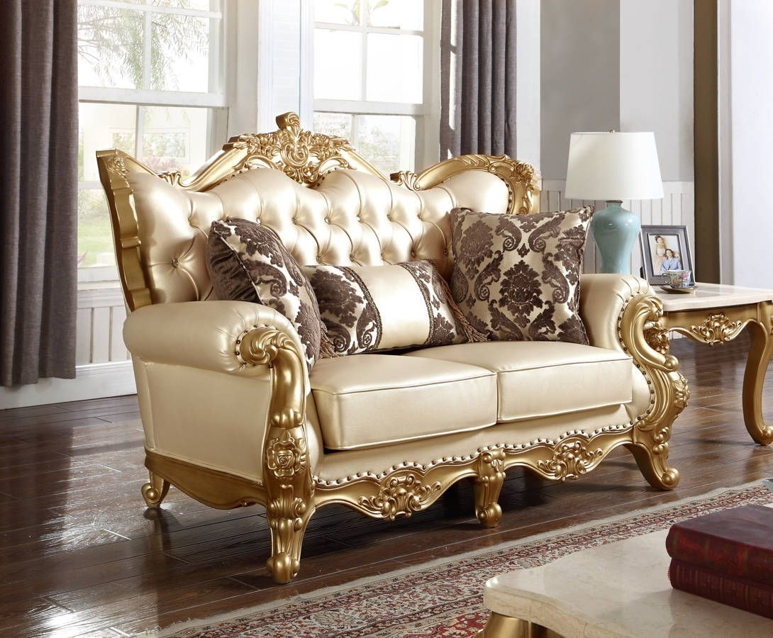 Meridian Furniture Bennito Pearl Loveseat Furniture Meridian Furniture Usa Furniture