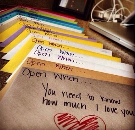 To give to your boyfriend when he says he misses you