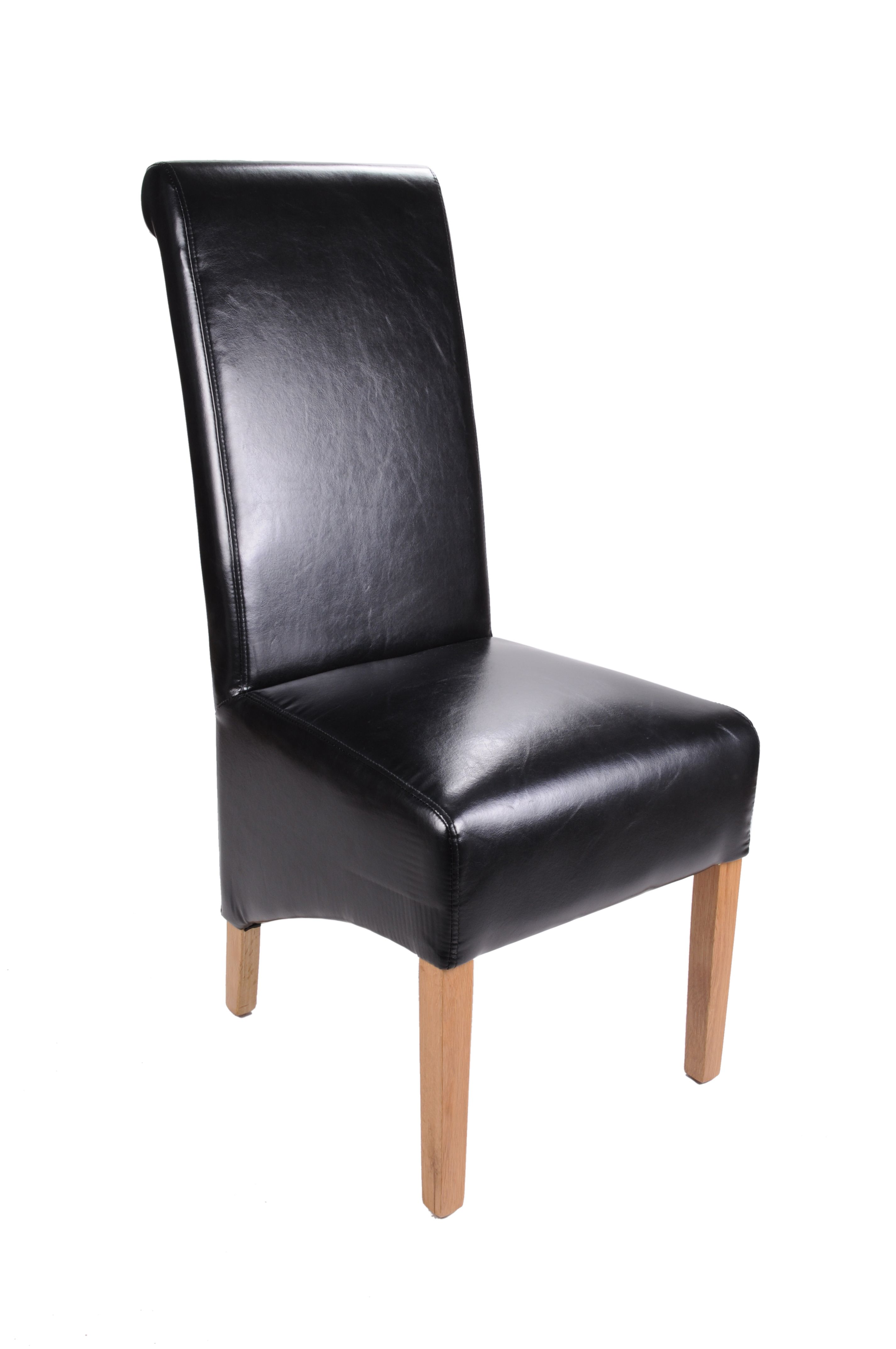 Krista Light Oak Dining Chair (Set Of 2)