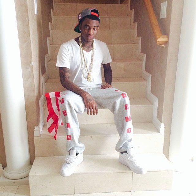 Soulja Boy wearing Nike Air Force 1 | Soulja boy, Street outfit
