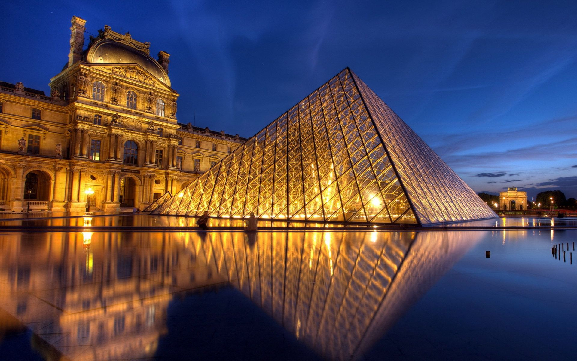 The Louvre Museum Wallpapers Travel Hd Wallpapers Frankreich
