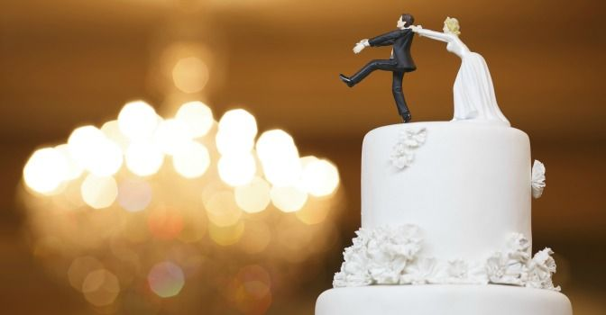 """If the groom really feels """"trapped,"""" why is he getting married in the first place?"""