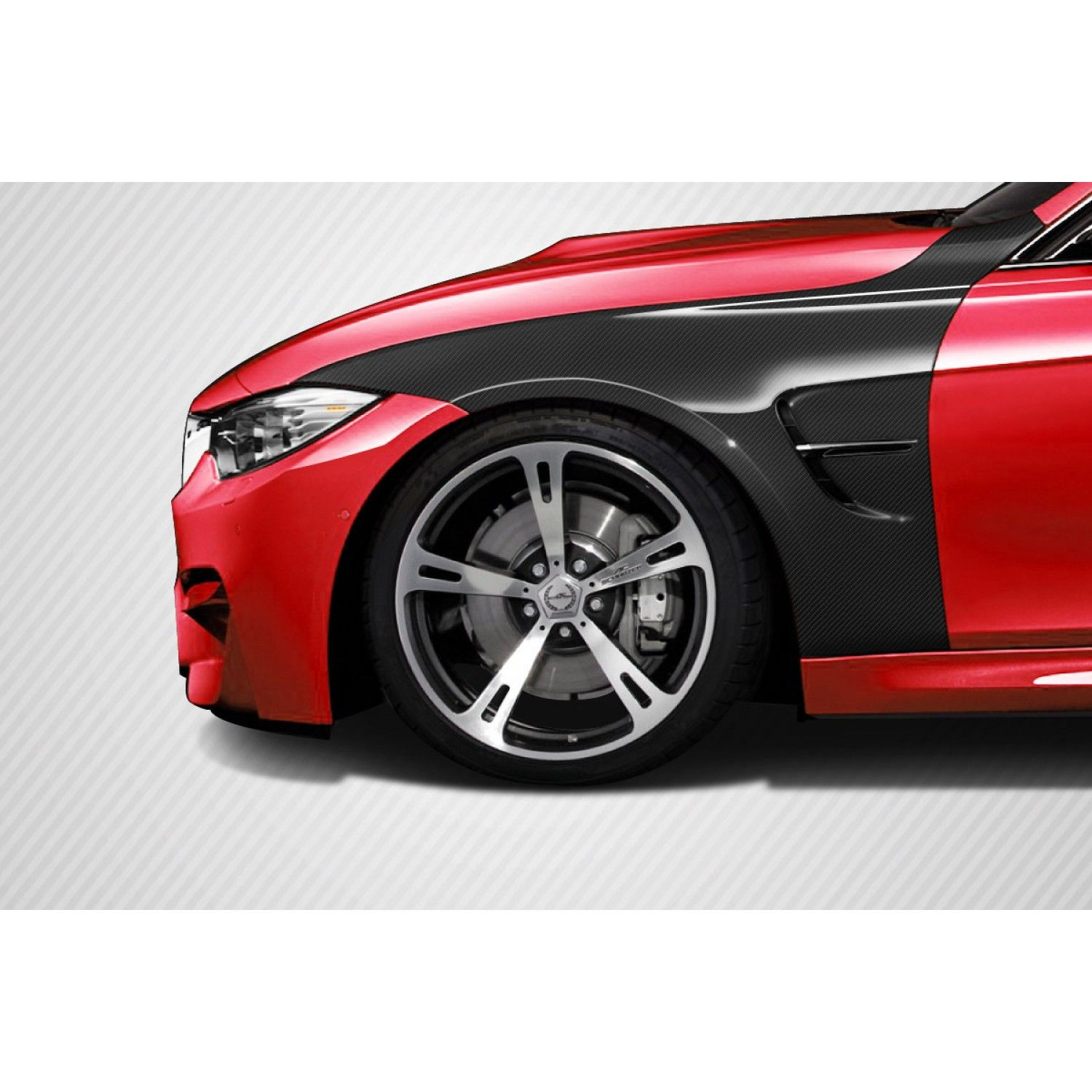 2012-2014 BMW 3 Series F30 Carbon Creations M3 Look Front