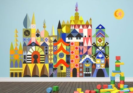 Its A Small World Magic Facade Adhesive Wall Decals For Kids