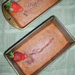 Strawberry Bread (more like cake).  Yum