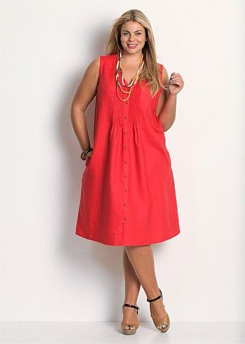 ce855b1f16 Cute summer dress. Love it. {Plus Size Dresses - Maxi & Large Sizes ...