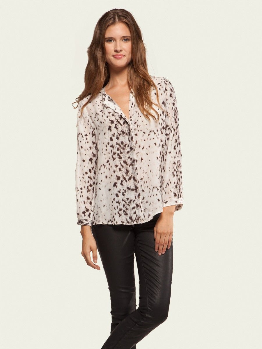 Joie Purine Top $238  email us at chaboutique@gmail.com or call us at 314-993-8080