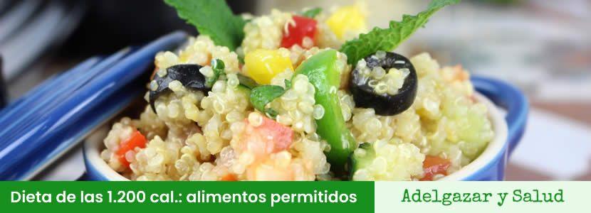 Dieta De Las 1200 Calorias Menu Opiniones Y Recetas Dietas