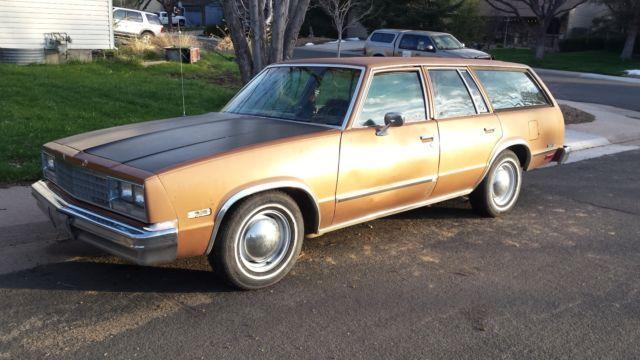 1982 Chevrolet Malibu Classic 4 Door Station Wagon Station Wagon