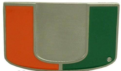 University Of Miami Hurricanes Belt Buckle