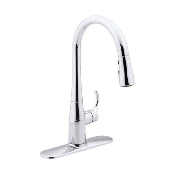 Kohler K 597 Simplice Single Hole Or Three Hole Bar Sink Faucet With