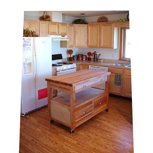 Catskill Craftsmen, Inc. Grand Americana Work Center. Kitchen Island ...
