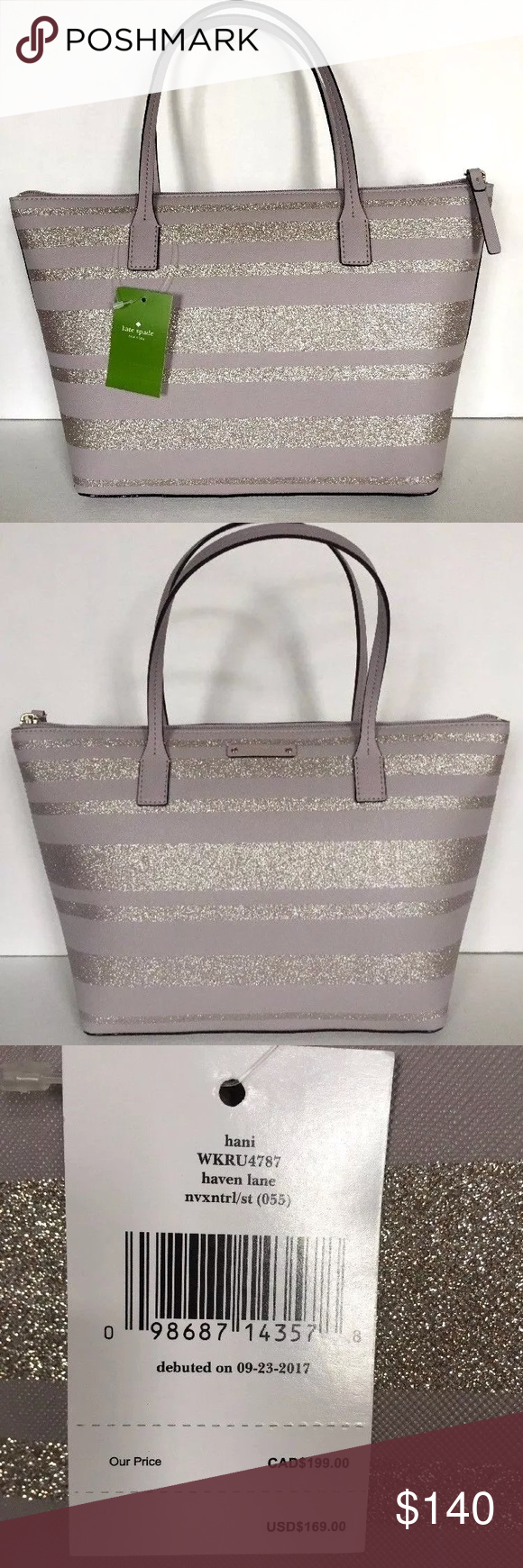Nwt Kate Spade Hani Haven Lane Tote Nouveau Bag Kate Spade Tote Bag Designer Deals Tote