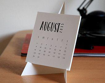 Diy Desk Calendar Calendar Desk Calendars Calendar Calendar Design