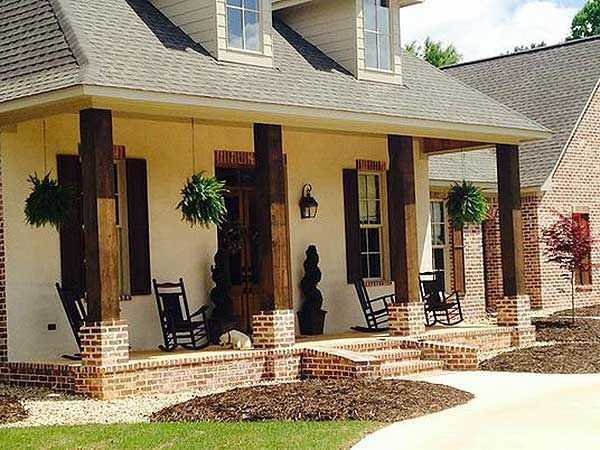 wooden posts madden home design acadian house plans french country house plans