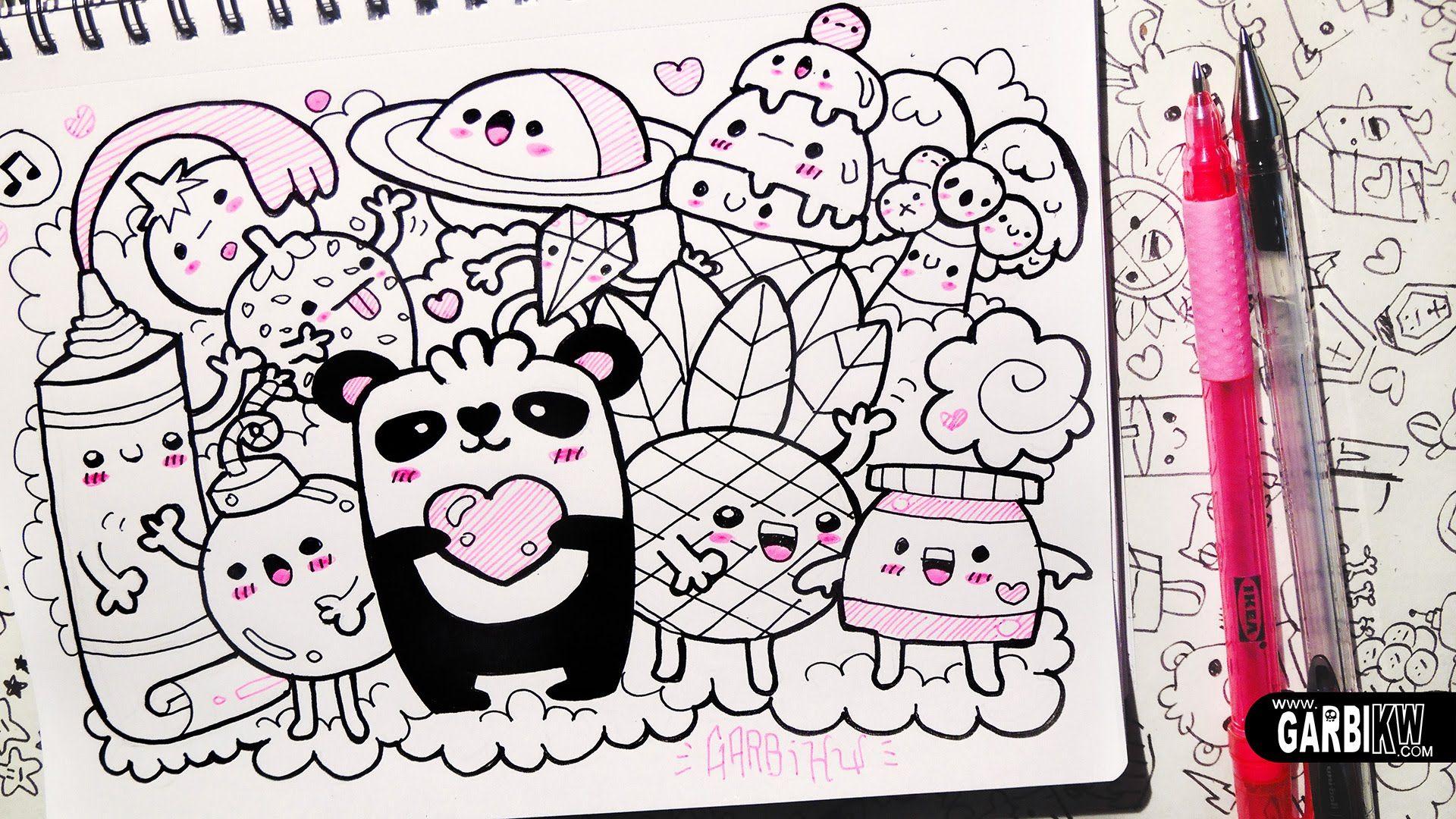 Follow the Panda! - Hello Doodles - Easy and Kawaii ...