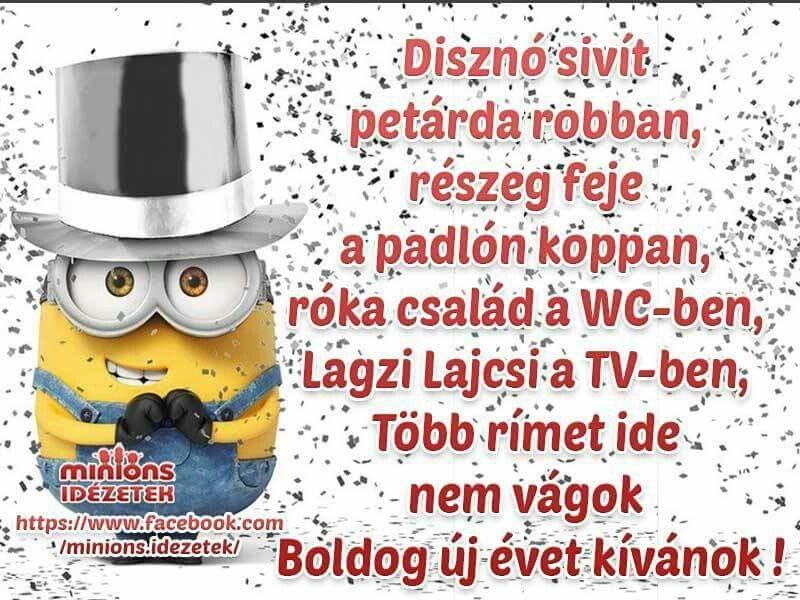 boldog új évet idézetek vicces Pin by Dobos Zsuzsanna on Hahota ☺ | Funny jokes, Humor, Funny