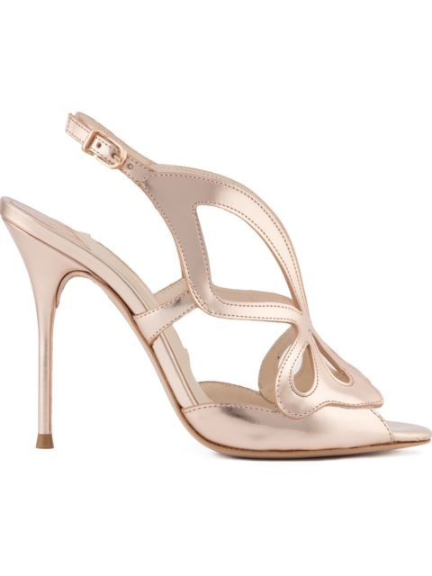 Madame Butterfly sandals - Metallic Sophia Webster