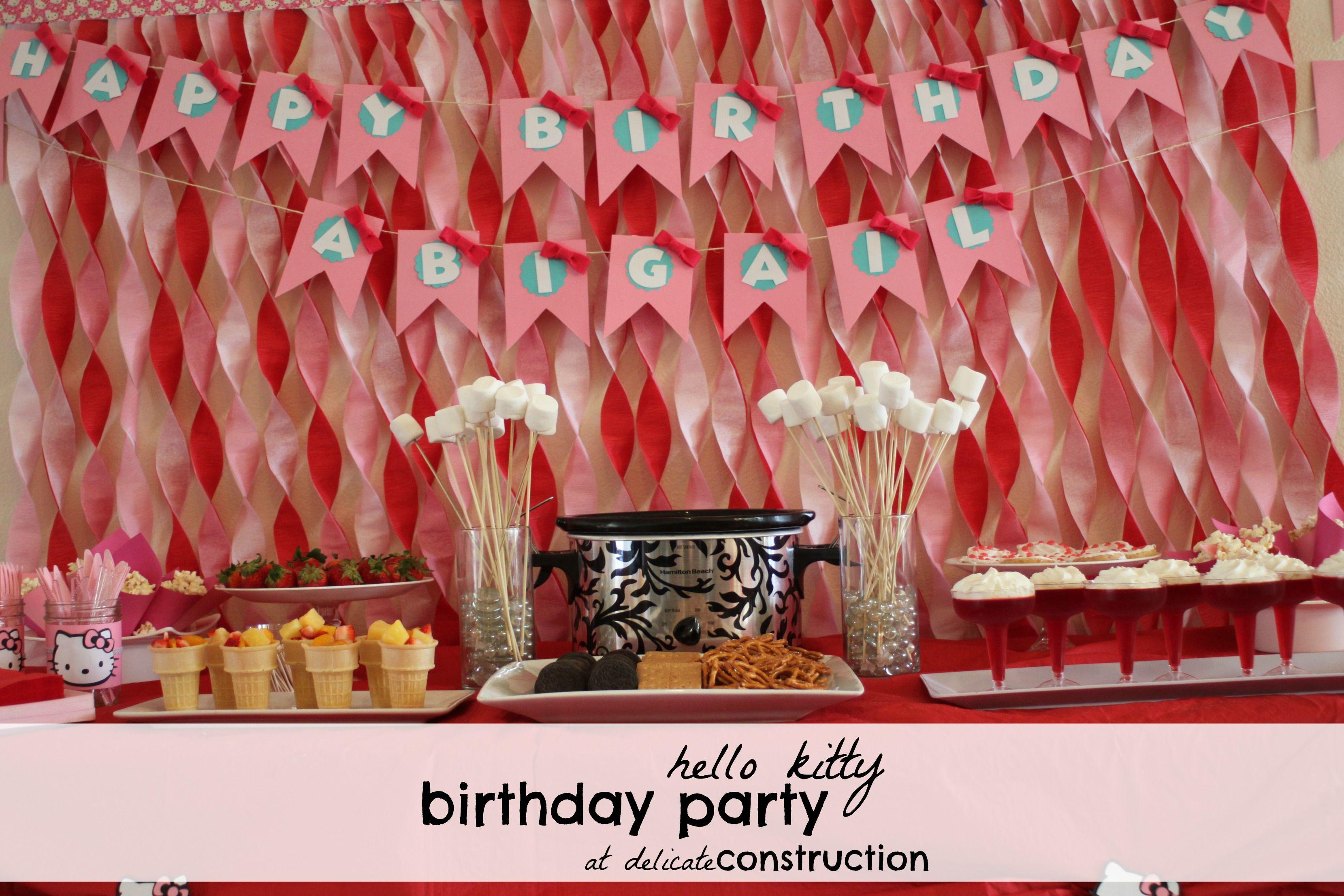 Christmas 2013 Hello Kitty Birthday Party Hello Kitty Party