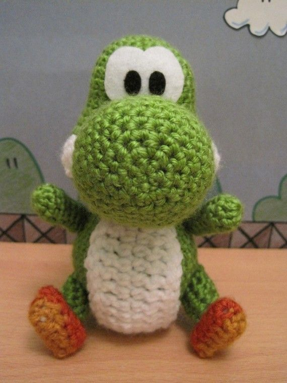 Crochet Mario Mushroom - Part One - YouTube   760x570