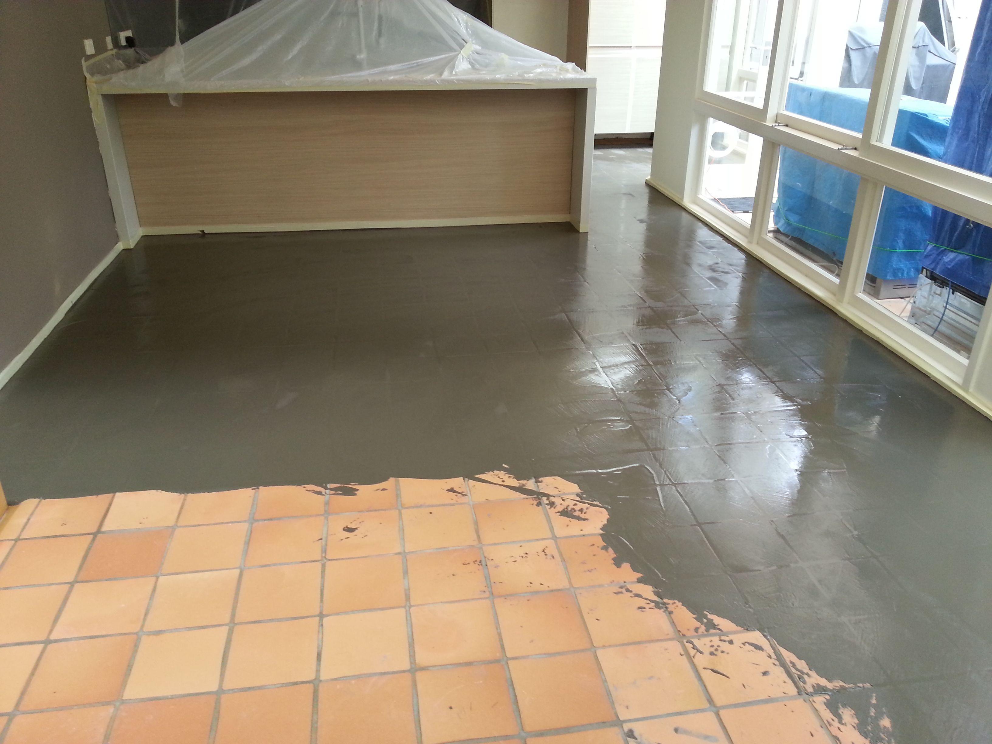 Levelcova Resurfacing Ceramic Floor Tile Flooring