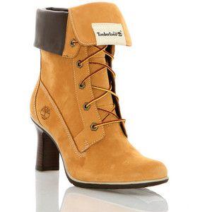 timberland heels women