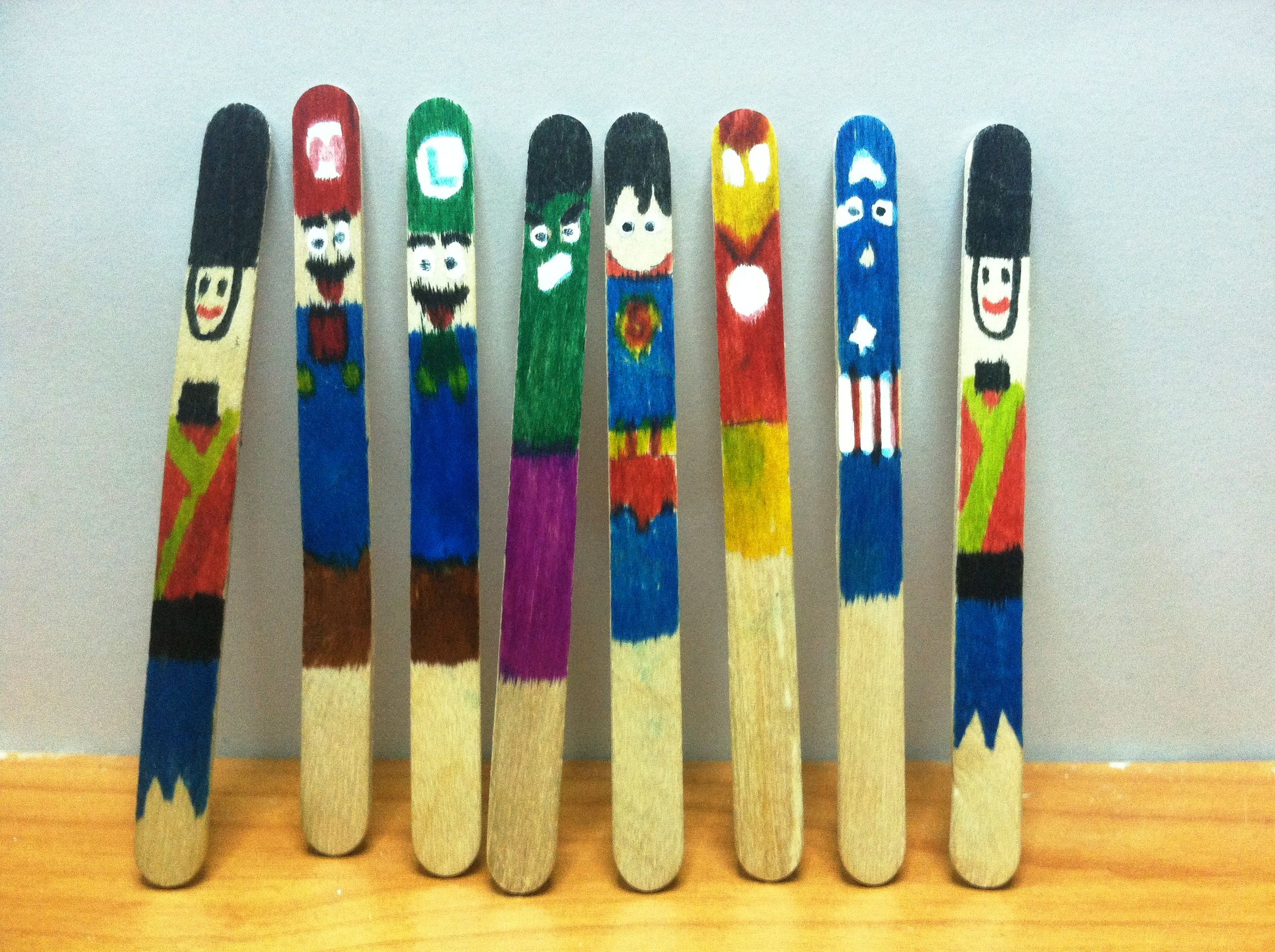 diy popsicle stick bookmark