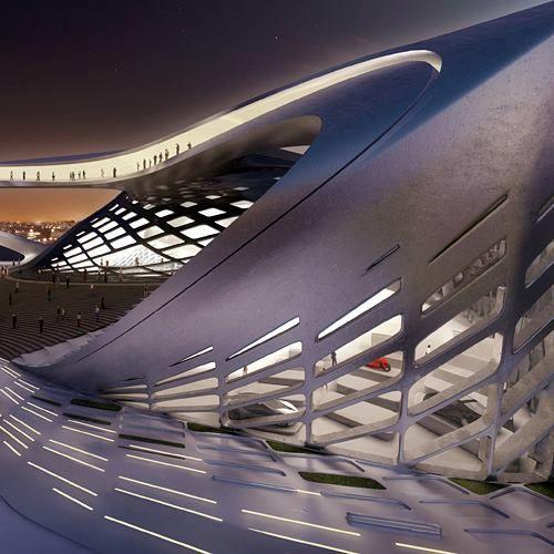 Bogota international convention center by zaha hadid for Arquitectura parametrica pdf