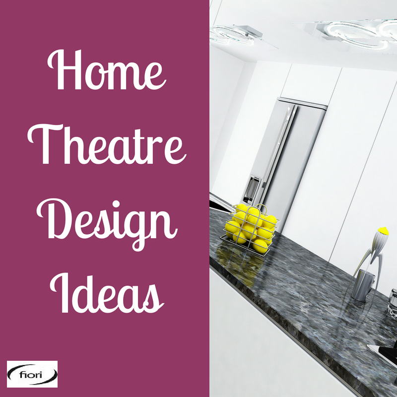 Lifestyle Ideas On Home Theatre Design