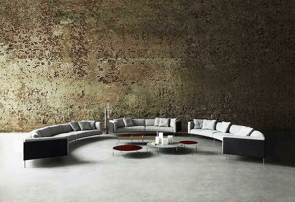 Living Divani, made in Italy: Rod Bean sectional sofa by Piero ...