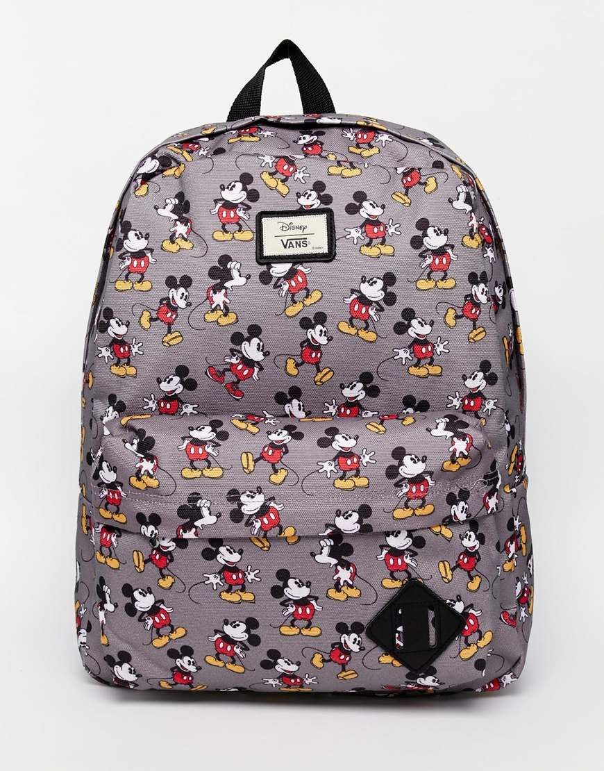 Image 1 of Vans x Disney Mickey Mouse Backpack