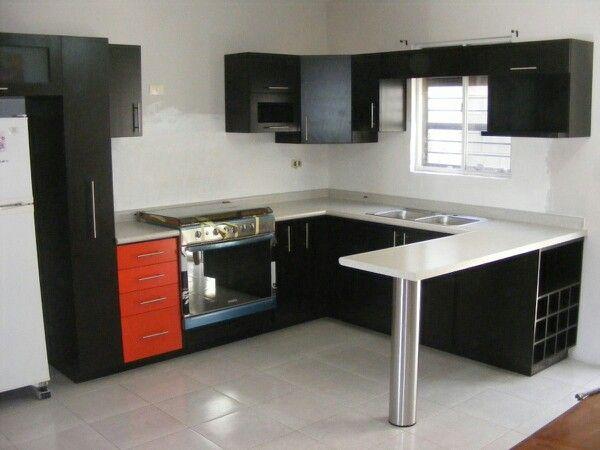 Cocina kitchen ideas cocinas peque as cocinas for Modelos de cocinas pequenas