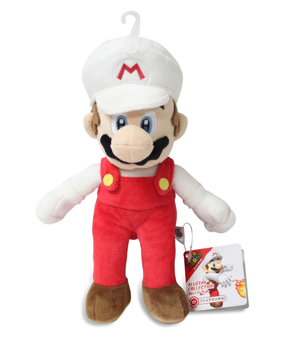 S Sanei Super Mario ALL STAR COLLECTION Plush Doll Light blue Yoshi Japan