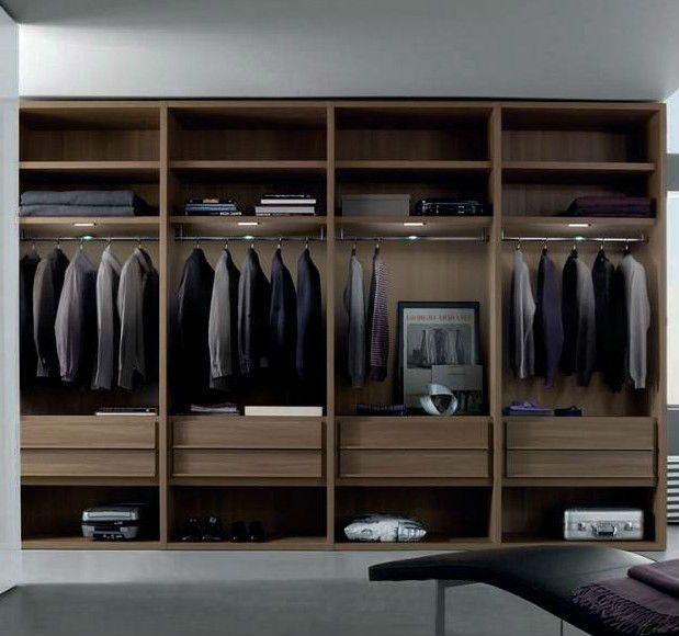 cloth wardrobe bedroom open wardrobes modern