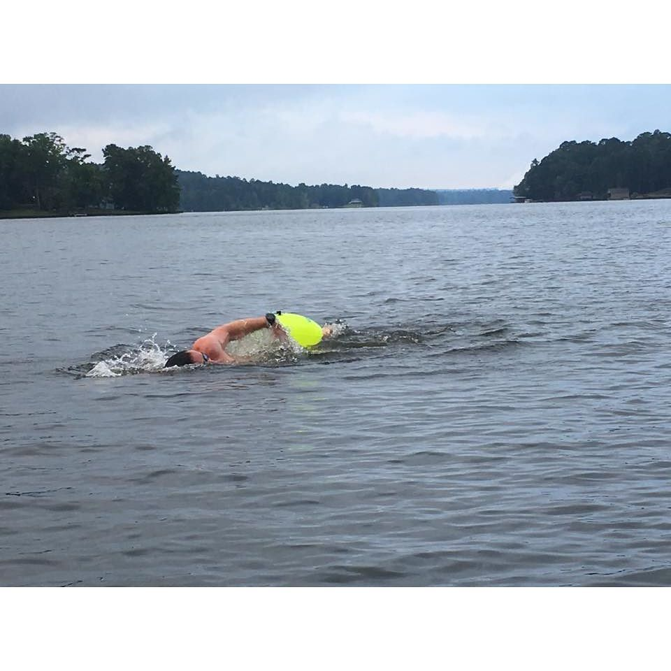 54e8604ab99 ... New Wave Swim Buoy | TRIATHLON SWIM GEAR. from @worley.torre at Lake  Oliver Columbus GA ... Great Open Water