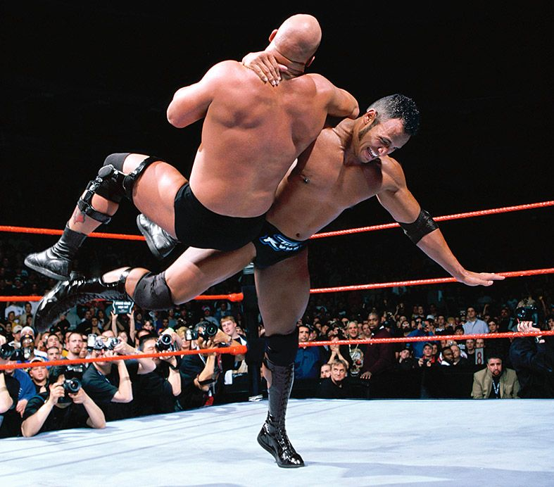 Stone Cold And The Great One Wwe Dvd Family History Rich Family